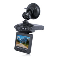 "HD Portable DVR Dash Cam Video Camcorder with Night Vision and 2.5"" TFT LED Screen"