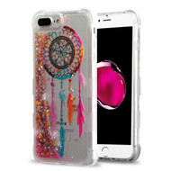 Tuff Lite Quicksand Glitter Transparent Case for iPhone 8 Plus / 7 Plus / 6S Plus / 6 Plus - Dreamcatcher