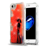 Tuff Lite Quicksand Glitter Transparent Case for iPhone 8 / 7 / 6S / 6 - Chic