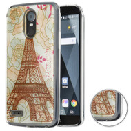 Air Cushion Shockproof Crystal TPU Case for LG Stylo 3 / Stylo 3 Plus - Eiffel Tower