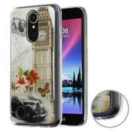 Air Cushion Shockproof Crystal TPU Case for LG K20 Plus / K20 V / K10 (2017) / Harmony - Big Ben