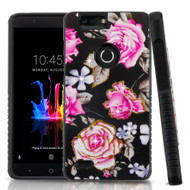 Tough Anti-Shock Hybrid Protection Case for ZTE Blade Z Max - City Flowers