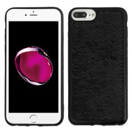 Two-Tone Sparkle Sequins Case for iPhone 8 Plus / 7 Plus / 6S Plus / 6 Plus - Black