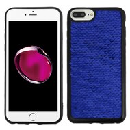 Two-Tone Sparkle Sequins Case for iPhone 8 Plus / 7 Plus / 6S Plus / 6 Plus - Blue