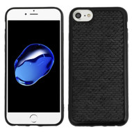 Two-Tone Sparkle Sequins Case for iPhone 8 / 7 / 6S / 6 - Black