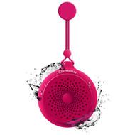 *Sale* HyperGear Splash Water Resistant Bluetooth Wireless Speaker with Built-In Mic - Hot Pink