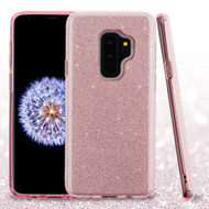 *Sale* Full Glitter Hybrid Protective Case for Samsung Galaxy S9 Plus - Pink