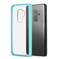 *Sale* Polymer Transparent Hybrid Case for Samsung Galaxy S9 Plus - Baby Blue