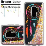 Quicksand Glitter Transparent Case for Samsung Galaxy S9 Plus - Dreamcatcher