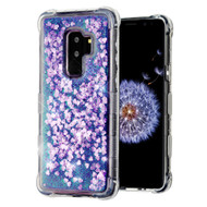 Tuff Lite Quicksand Glitter Transparent Case for Samsung Galaxy S9 Plus - Purple