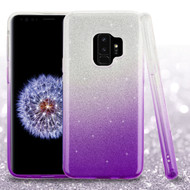 *SALE* Full Glitter Hybrid Protective Case for Samsung Galaxy S9 - Gradient Purple