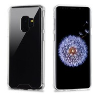 Ultra Hybrid Shock Absorbent Crystal Case for Samsung Galaxy S9 - Clear