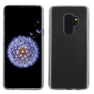 Rubberized Crystal Case for Samsung Galaxy S9 Plus - Clear 901