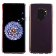 Rubberized Crystal Case for Samsung Galaxy S9 Plus - Rose Gold