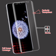 Curved Full Coverage Crystal Clear Screen Protector for Samsung Galaxy S9 Plus