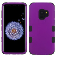 Military Grade Certified TUFF Hybrid Armor Case for Samsung Galaxy S9 - Purple