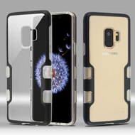 TUFF Panoview Transparent Hybrid Case for Samsung Galaxy S9 - Black