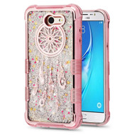 Tuff Lite Quicksand Glitter Electroplating Transparent Case for Samsung Galaxy J7 (2017) / J7 V / J7 Perx - Dreamcatcher