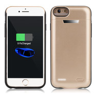 Smart Power Bank Battery Case 5800mAh for iPhone 8 / 7 / 6S / 6 - Gold