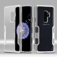 TUFF Panoview Transparent Hybrid Case for Samsung Galaxy S9 Plus - Silver
