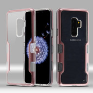 TUFF Panoview Transparent Hybrid Case for Samsung Galaxy S9 Plus - Rose Gold