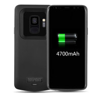 Power Bank Battery Case 4700mAh for Samsung Galaxy S9 - Black