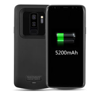 Power Bank Battery Case 5200mAh for Samsung Galaxy S9 Plus - Black