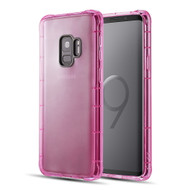 *Sale* Duraproof Transparent Anti-Shock TPU Case for Samsung Galaxy S9 - Pink