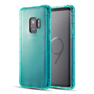 *Sale* Duraproof Transparent Anti-Shock TPU Case for Samsung Galaxy S9 - Teal