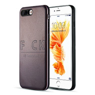 *Sale* Art Pop Series 3D Embossed Printing Hybrid Case for iPhone 8 Plus / 7 Plus - Fxck