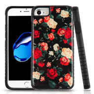 Tough Anti-Shock Triple Layer Hybrid Case for iPhone 8 / 7 / 6S / 6 - Roses