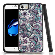 Tough Anti-Shock Triple Layer Hybrid Case for iPhone 8 / 7 / 6S / 6 - Persian Paisley