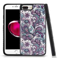 Tough Anti-Shock Triple Layer Hybrid Case for iPhone 8 Plus / 7 Plus / 6S Plus / 6 Plus - Persian Paisley