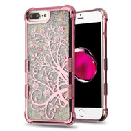 Tuff Lite Quicksand Glitter Electroplating Case for iPhone 8 Plus / 7 Plus / 6S Plus / 6 Plus - Maple Vine