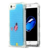 *Sale* Tuff Aqua Lava Transparent Case for iPhone 8 / 7 / 6S / 6 - Swimming Pool