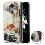 *Sale* Shockproof Crystal TPU Case for LG Aristo 2 / Fortune 2 / K8 (2018) / Tribute Dynasty / Zone 4 - Big Ben