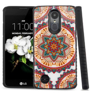 Tough Triple Layer Hybrid Case for LG Aristo 2 / Fortune 2 / K8 (2018) / Tribute Dynasty / Zone 4 - Mandala Red
