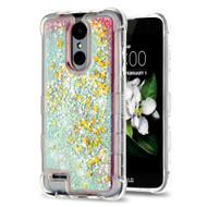 Tuff Lite Quicksand Glitter Case for LG Aristo 2 / Fortune 2 / K8 (2018) / Tribute Dynasty / Zone 4 - Pink