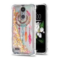 Tuff Lite Quicksand Glitter Case for LG Aristo 2 / Fortune 2 / K8 (2018) / Tribute Dynasty / Zone 4 - Dreamcatcher Gold