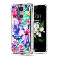 Tuff Lite Quicksand Case for LG Aristo 2 / Fortune 2 / K8 (2018) / Tribute Dynasty / Zone 4 - Watercolor Hibiscus