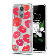 Tuff Lite Quicksand Glitter Case for LG Aristo 2 / Fortune 2 / K8 (2018) / Tribute Dynasty / Zone 4 - Kiss
