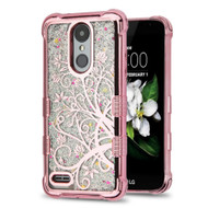 Tuff Lite Quicksand Electroplating Case for LG Aristo 2 / Fortune 2 / K8 (2018) / Tribute Dynasty / Zone 4 - Maple Vine