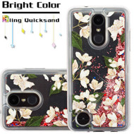 Quicksand Transparent Case for LG Aristo 2 / Fortune 2 / K8 (2018) / Tribute Dynasty / Zone 4 - Sally Flowers