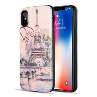*Sale* Art Pop Series 3D Embossed Printing Hybrid Case for iPhone XS / X - Paris