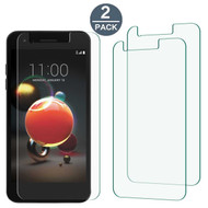 Crystal Clear Screen Protector for LG Aristo 2 / Fortune 2 / K8 (2018) / Tribute Dynasty / Zone 4 - Twin Pack