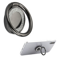 Smart Loop Universal Smartphone Holder & Stand - Crystal Bling Black