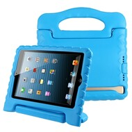 Kids Friendly Light Weight Shock Proof Standing Case with Handle for iPad Mini 1 / 2 / 3 / 4th Generation - Blue