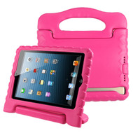 *Sale* Kids Friendly Light Weight Shock Proof Standing Case with Handle for iPad Mini 1 / 2 / 3 / 4 - Hot Pink
