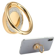 *Sale* Smart Loop Universal Smartphone Holder & Stand - Crystal Bling Gold