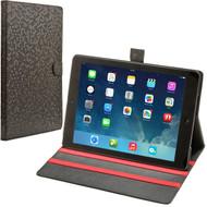 Honeycomb Fashion Folio Case for iPad (2018/2017) / iPad Air - Black